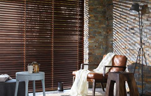 Træpersienner fra Luxaflex